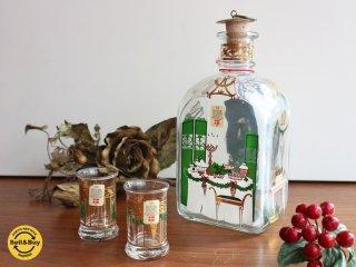 ホルムガード holmegaared クリスマス ボトル ショットグラスセット 1996年 ◎