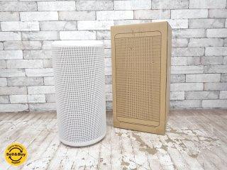 無印良品 MUJI 円柱型 空気清浄機 MJ-AP1 2014年製 適用床面積(目安)〜30畳タイプ 360°集塵脱臭フィルター搭載 ●