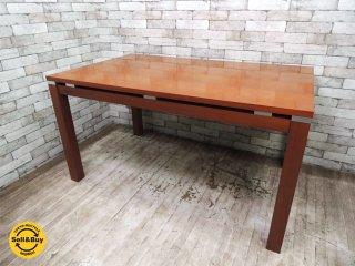 クラスティーナ Crastina ダイニングテーブル モダンデザイン w140cm ●