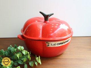 ルクルーゼ LE CREUSET ココットトマト チリレッド 両手鍋 琺瑯鍋 廃番 ◎
