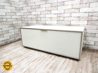 アルフレックス arflex C.C.09 ハイファイボード Hi-Fi BOARD ハイタイプ W100 定価¥311,040- AVボード テレビ台 イタリアモダン TVキャビネット ◇
