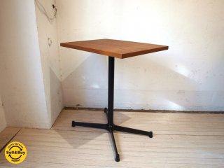 グリニッチ greeniche オリジナル テーブル original table (teak)ブラック Xレッグ  スタンダードテーブル 幅 60cm 美品★