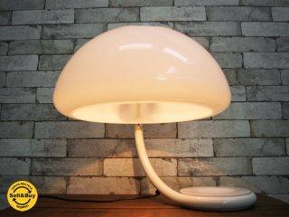 マルティネリ ルーチェ Martinelli Luce セルペンテ テーブルランプ MOD599 照明 スペースエイジ イタリア ビンテージ ●