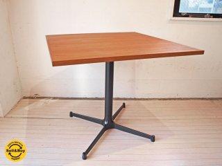 グリニッチ greeniche オリジナル テーブル original table (teak)ブラック Xレッグ スタンダードテーブル 幅 80cm 美品★ ★