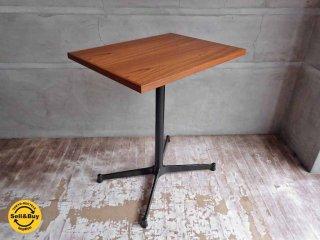 グリニッチ Greeniche オリジナルテーブル original table チーク材 カフェテーブル 幅60cm ♪