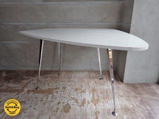 テクタ TECTA ダイニング テーブル M21-2F ホワイト ACTUS アクタス取扱 ♪