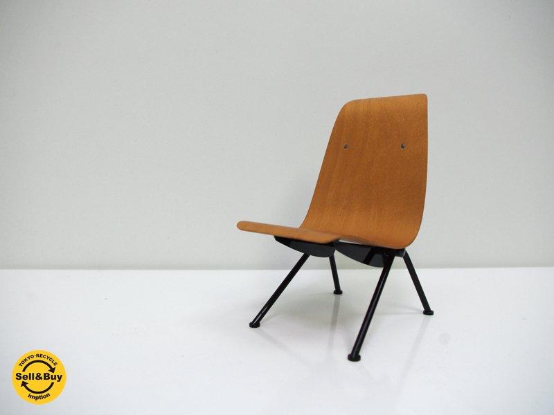 ヴィトラ vitra ミニチュア コレクション アントニーチェア antony chair 1/6サイズ ジャン・プルーヴェ Jean Prouve オブジェ ●