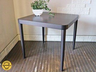 無印良品 MUJI × トーネット THONET ドイツ ブナ材 テーブル S ブラウン ダイニングテーブル ◎