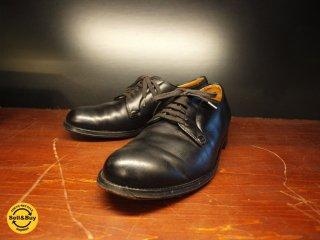 オールデン ALDEN FOOT BALANCE プレーントゥ カーフ ブラック 6555 USA製 7 1/2 ワイズD (25.5cm)元箱有 ★