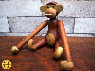 カイボイスン Kay Bojesen 木製フィギュア モンキー MONKEY Sサイズ チーク ●