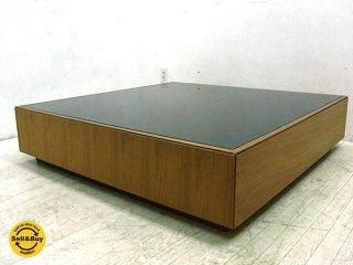 アクタス ACTUS フィーノ FINO ウォールナット材 リビングテーブル モダンスタイル アーバンデザイン ●