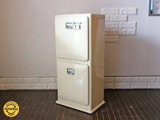ダルトン DULTON 分別2段 ゴミ箱  トラッシュカン  DOUBLE DECKER ダブルデッカー アイボリー ◎