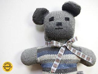 インバーアラン INVERALLAN インバーアランベア ぬいぐるみ アラン編み ニット コットン製 ●