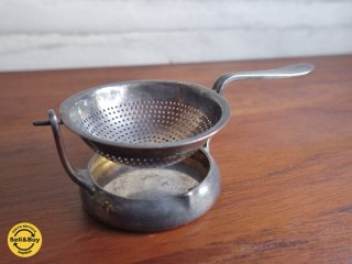 クリストフル Christofle ヴィンテージ ティーストレーナー 茶漉し ♪