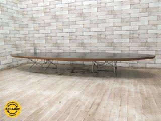 ハーマンミラー Herman Miller イームズ ETRT エリプティカルテーブル サーフボードテーブル ワイヤーベース コーヒーテーブル W226.5cm B ●