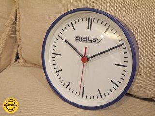 ビスレー BISLEY 掛け時計 ウォールクロック BISLEY CLOCK ブルー 20cm径 ■