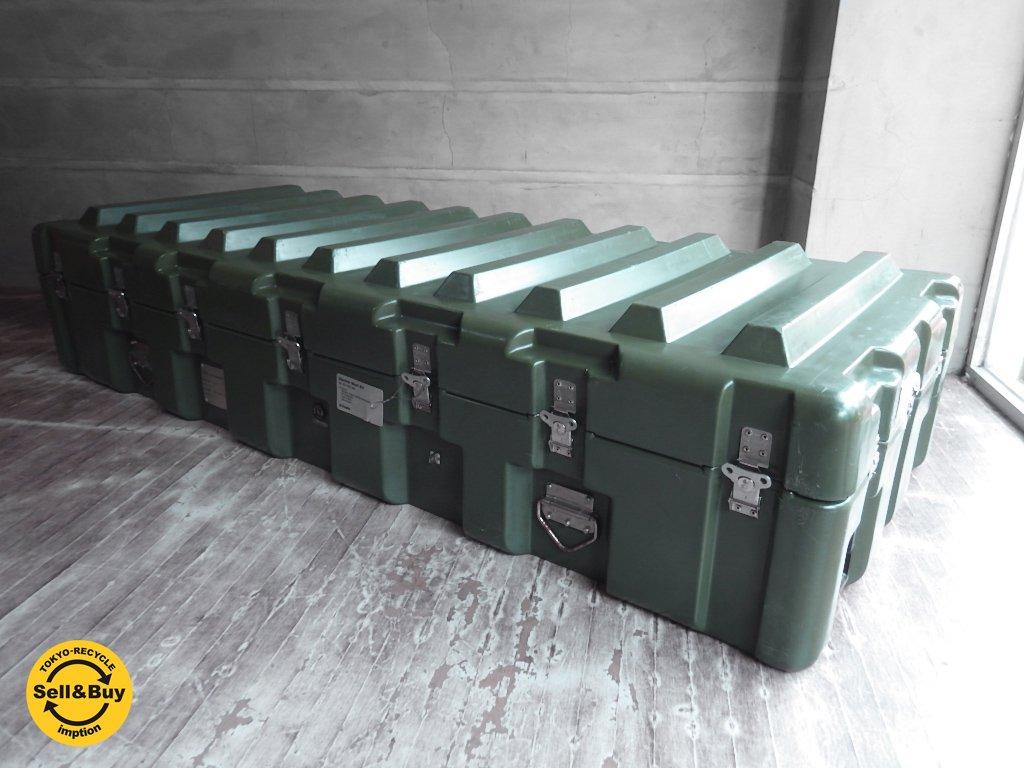 ハーディグ ケース HARDIGG CASES コンテナケース トランク 大型 キャスター付き 米軍 US 日本ではほぼお目にかかれない希少品!! ♪