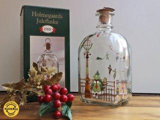 ホルムガード holmegaared クリスマス ボトル 1988年 ◎