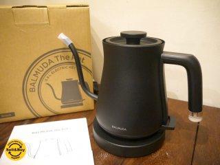 バルミューダ BALMUDA ザ ポット The Pot 電気ケトル 0.6L K02A-BK ブラック 未使用品 元箱付き ■
