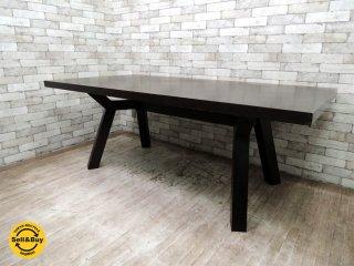 タイム&スタイル TIME&STYLE セントジェームス St.James ダイニングテーブル タモ材 W190 ●