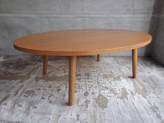 ウニコ unico アルベロ ALBERO ローテーブル センターテーブル チーク材 ♪