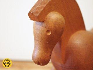 カイボイスン Kay Bojesen ビンテージ ポニー pony 木製オブジェ デンマーク 希少 ●