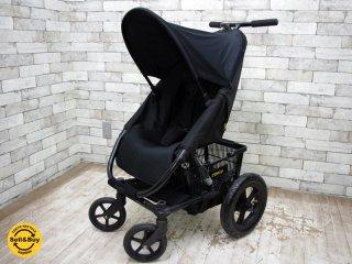 キュリオ Curio Stroller A ブラック ベビーカー 別売りオプション付属 ●