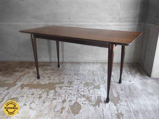 スカンジナビアンファニチャーサービス Scandinavian Furniture Savice SFS 取り扱い ローズウッド ヴィンテージセンターテーブル 1950〜1970年 北欧 ♪