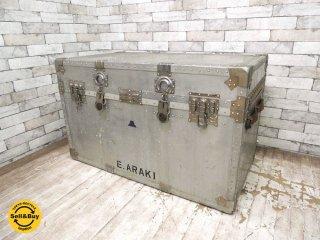 コーワ KOWA ビンテージ アルミトランク トランクボックス 収納箱 ローテーブル ●