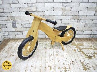 ホップル HOPPL ウッディバイク WOODY BIKE 木製 二輪車 乗用玩具 ●