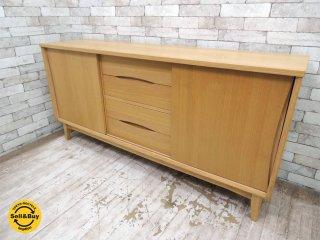 ウニコ unico シグネ SIGNE オーク材キャビネット サイドボード リビングボード 収納棚 食器棚 ●