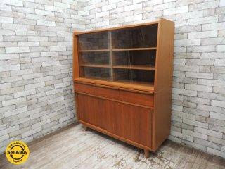 ウニコ unico アルベロ ALBERO チーク材 カップボード 食器棚 北欧スタイル ●