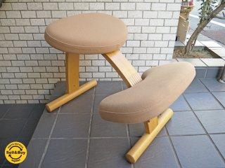 サカモトハウス SAKAMOTO HOUSE バランスイージーチェア Balans EASY ベージュ デスクチェア 学習椅子 旧 リボ Rybo社 ■