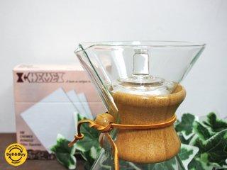 ケメックス CHEMEX コーヒーメーカー 5cup ハンドブロウ 蓋&フィルター付き ●