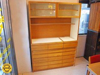 ウニコ unico トゥオ TUO アルダー材 キッチンボード カップボード 食器棚 広松木工 ★