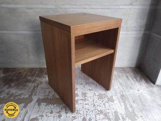 天童木工 TENDO ウォールナット ザービステーブル サイドテーブル ランプテーブル 幅50cm ♪