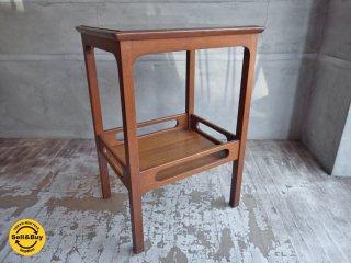 マルニ木工 maruni ヴィンテージ サイドテーブル デコラトップ オールドマルニ ♪