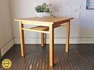 アクタス ACTUS ダイニングテーブル ポトス アッシュ材 スクエアテーブル ナチュラルデザイン  ◎