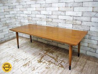 アクメファニチャー ACME Furniture カーディフ CARDIFF コーヒーテーブル COFFEE TABLE ハックベリー材 美品 ●