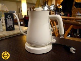 バルミューダ BALMUDA ザ ポット The Pot 電気ケトル 0.6L K02A-WH ホワイト 美品 ■