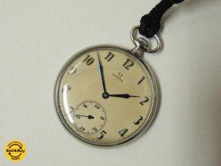 オメガ OMEGA 懐中時計 Pocket Watch 時計 アンティーク 手巻き 稼働品 ★