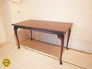 ヨーロピアン 猫脚 ローテーブル コーヒーテーブル クラシカルスタイル センターテーブル w93 ★