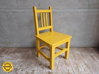 ペインテッド キッズチェア 子供椅子 A ♪