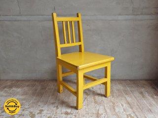 ペインテッド キッズチェア 子供椅子 B ♪