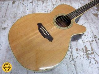 タカミネ Takamini 高峰 PTU510N エレアコ ギター ナチュラル ●