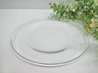 アラビア ARABIA オマ oma ガラスプレート クリア 22cm ハッリ・コスキネン 廃盤希少品 A ●
