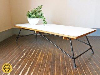 マイスター MEISTER MS2 コーヒーテーブル ローテーブル メラミン化粧板 目黒通り ◎