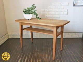 ウニコ unico クルト KURT カフェテーブル オーク材 コーヒーテーブル ◎