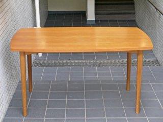 ウニコ unico ホルム HOLM ダイニングテーブル チーク w135 北欧ビンテージスタイル ■