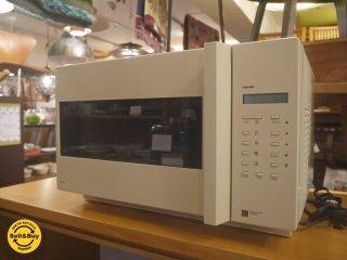 東芝 TOSHIBA アテハカ atehaca オーブンレンジ デザイン家電 2002年製 ER-ATE01 ■